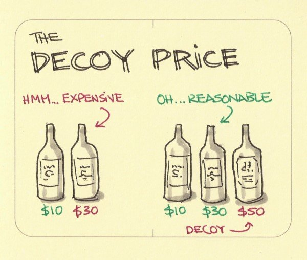 Decoy Pricing Strategy for Marketers - Upward Commerce