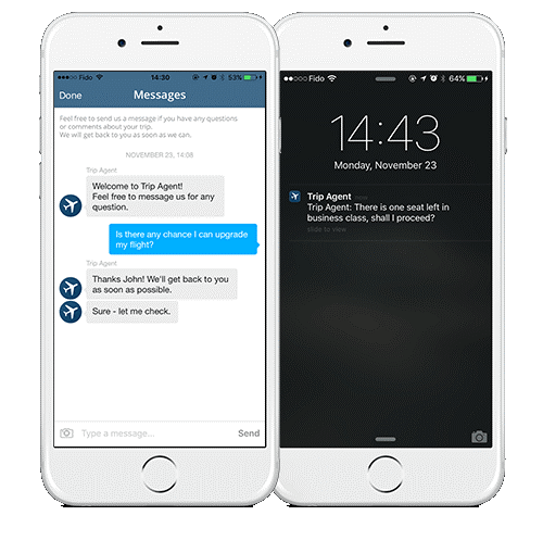 Push Notifications - Upward Commerce